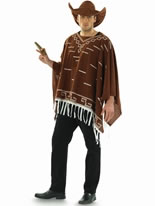 Adult Wild West Poncho Costume
