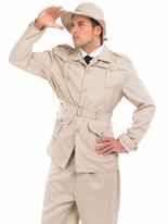 Mens Safari Explorer Costume [FS3249]