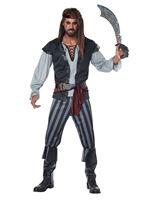 Mens Scallywag Pirate Costume [01443]