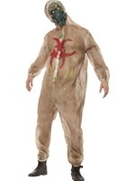 Mens Zombie Biohazard Costume