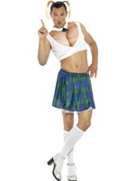 Mens Sexy School Girl Costume