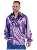 Adult Mens Soul Shirt Purple