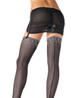 Mesh Thigh Highs