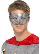 Metallic Warrior Columbina Mask [40008]