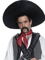 Mexican Bandit Sombrero [32966]