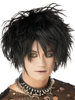 Midnight Fiend Black Wig [70328]
