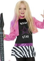 Child Mini Glam Rockstar Costume