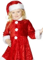 Child Mini Miss Santa Costume