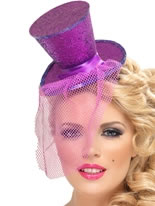 Mini Top Hat Purple