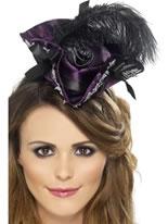 Miniature Purple Pirate Hat