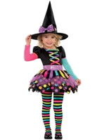 Child Miss Matched Witch Costume