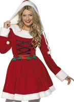 Adult Miss Santa Costume [33597]