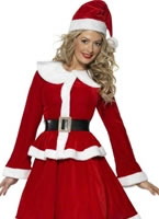 Adult Miss Santa Costume [36989]