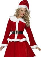 Adult Miss Santa Costume [36989]