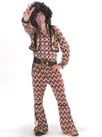 Adult Psychedelic MoTown Costume