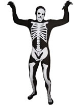 Morphsuit Skeleton Black