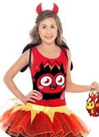 Child Moshi Monsters Diavlo Costume [35925]