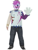 Child Moshi Monsters Zommer Costume
