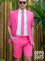 Mr Pink Oppo Summer Suit