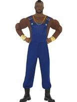 Adult Mr T Economy Costume