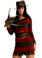 Ms. Freddy Krueger Halloween Costume