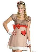 Adult Ms. Sock Monkey Costume [D38188]