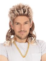 Mullet Wig 2 Tone [BW670]