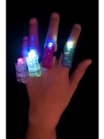 Multi Colour Flashing Finger Lights