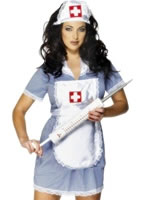 Adult Naughty Nurse Costume [24477]
