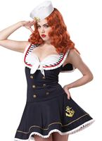 Adult Nautical Doll Sailor Costume