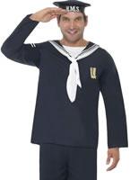 Adult 1940's Naval Seaman Costume