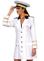 Deluxe Navy Officer Costume