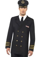Adult Navy Officer Costume