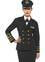 Adult Navy Officers Costume