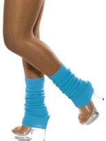 Neon Blue Leg Warmers [39453]