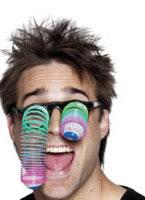 Neon Droopy Eye Specs [21135]