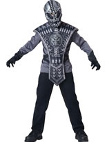 Child Alien Warrior Costume
