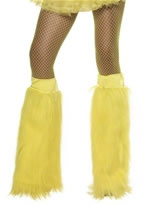 Neon Yellow Leg Warmers [35855]