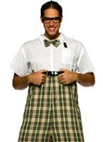 Adult Nerd Costume