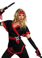 Adult Ninja Dragon Lady Costume [D38201]