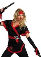 Adult Ninja Dragon Lady Costume [D38201]