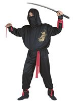 Adult Ninja Fighter Costume [9965]