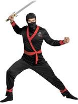 Deluxe Ninja Master Costume [D38204]