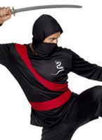 Adult Ninja Warrior Costume [20386]