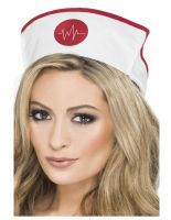 Nurses Hat With Elastic Fabric [28076]