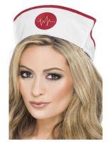 Nurses Hat With Elastic Fabric [28076]