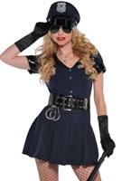 Officer Rita Dem Rights Police Costume [996185]