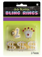 Old School Bling Rings