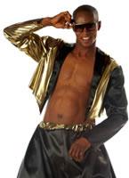 Adult Old School Rapper Costume