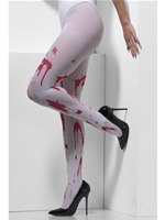 Opaque Blood Splattered Tights